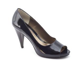 Pantofi dama Corvaris Bleumarine lac