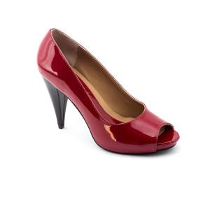 Pantofi dama Corvaris Rosu lac