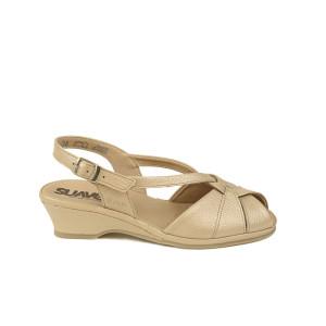 Sandale dama SUAVE Bej Sidefat