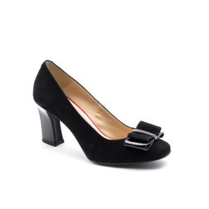 Pantofi dama Corvaris Negru velur