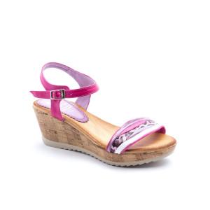 Sandale dama Marila Fucsia