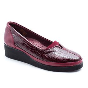 Pantofi dama Caspian Bordeaux