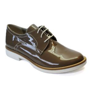 Pantofi dama Prego Lacuiti Coffe