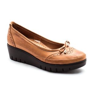 Pantofi dama Caspian Maro Tabac