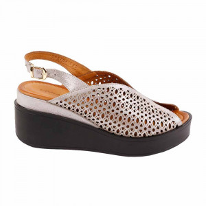 Sandale dama MYM 302581 Crem