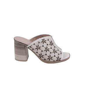 Papuci dama Dogati 2120-001 Alb