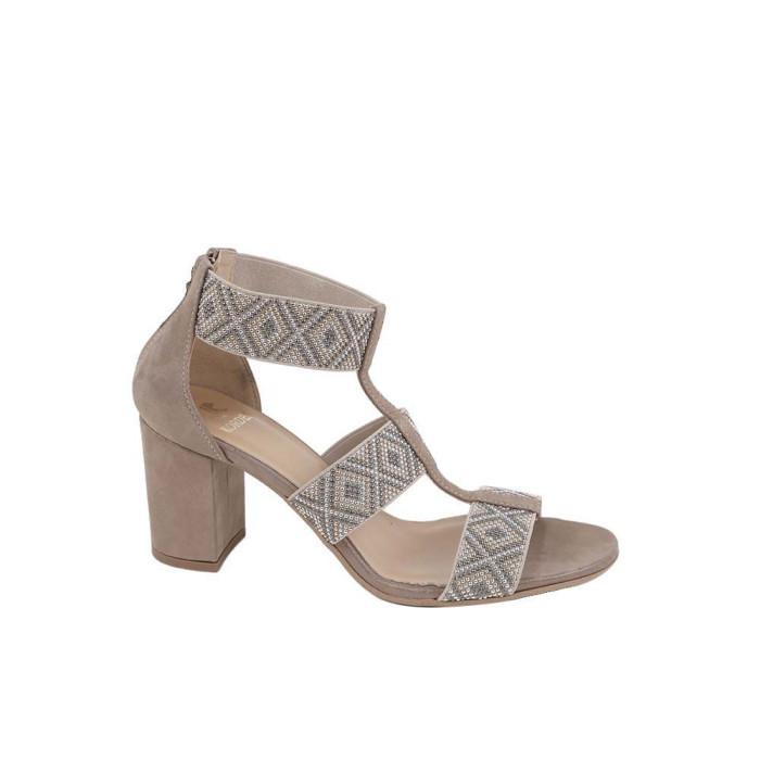 Sandale dama Kordel 1516 Bej