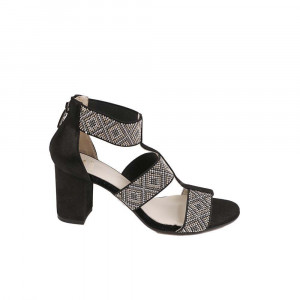 Sandale dama Kordel 1516 Negru