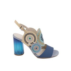 Sandale dama Kordel 2016 Albastru
