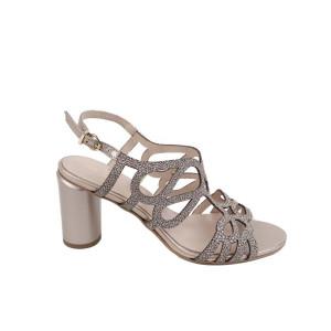 Sandale dama Kordel 2025 Auriu