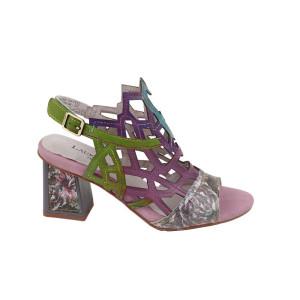 Sandale dama Laura Vita 04ROSEF5 Multicolor