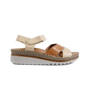 Sandale dama DONNA STYLE 0140 Bej