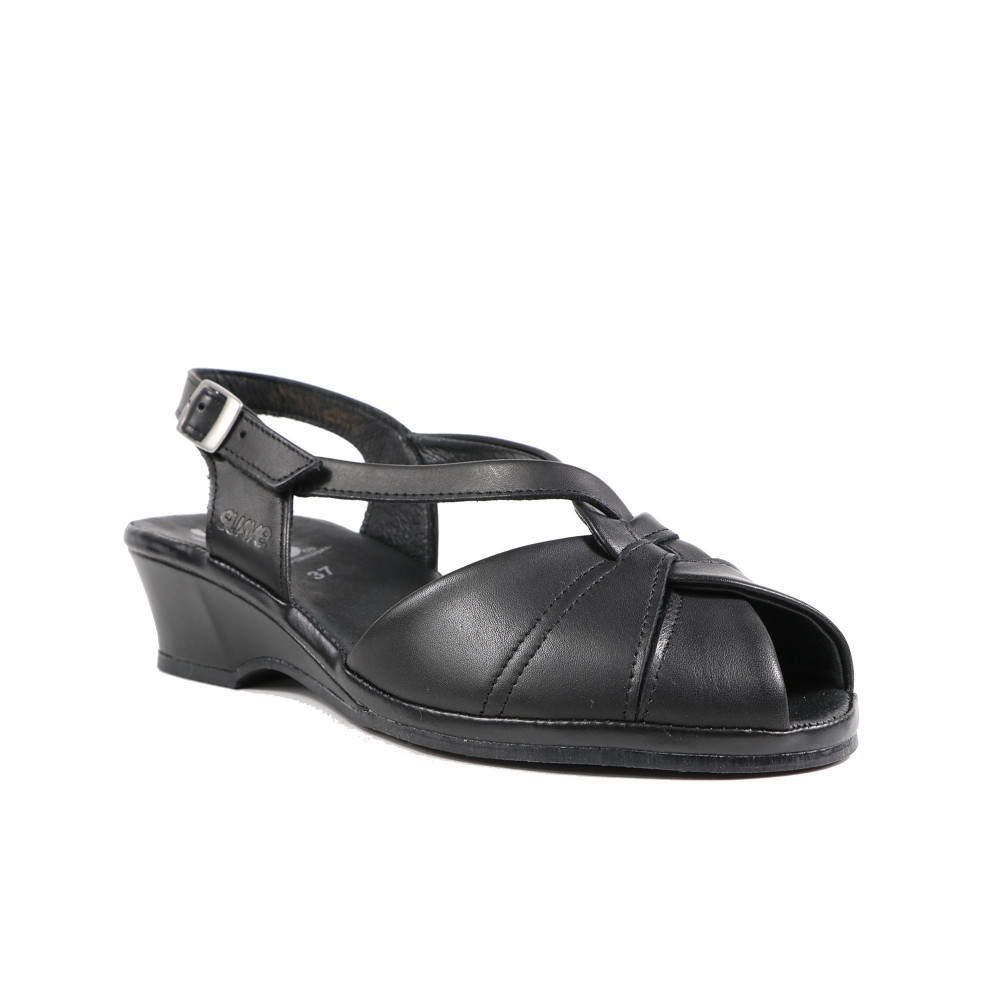 Sandale dama SUAVE 0012T 01-N Negru
