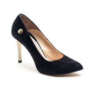 Pantofi dama Giulio Negru velur