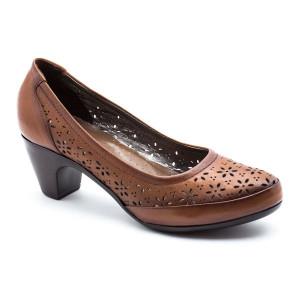 Pantofi dama Evida Maro Deschis Tabac
