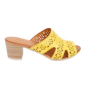 Papuci dama Dogati 231-25 Galben