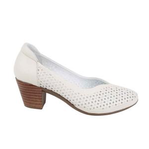 Pantofi dama Dogati 101-24 alb