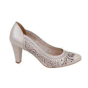 Pantofi dama Kordel 2022 Bej