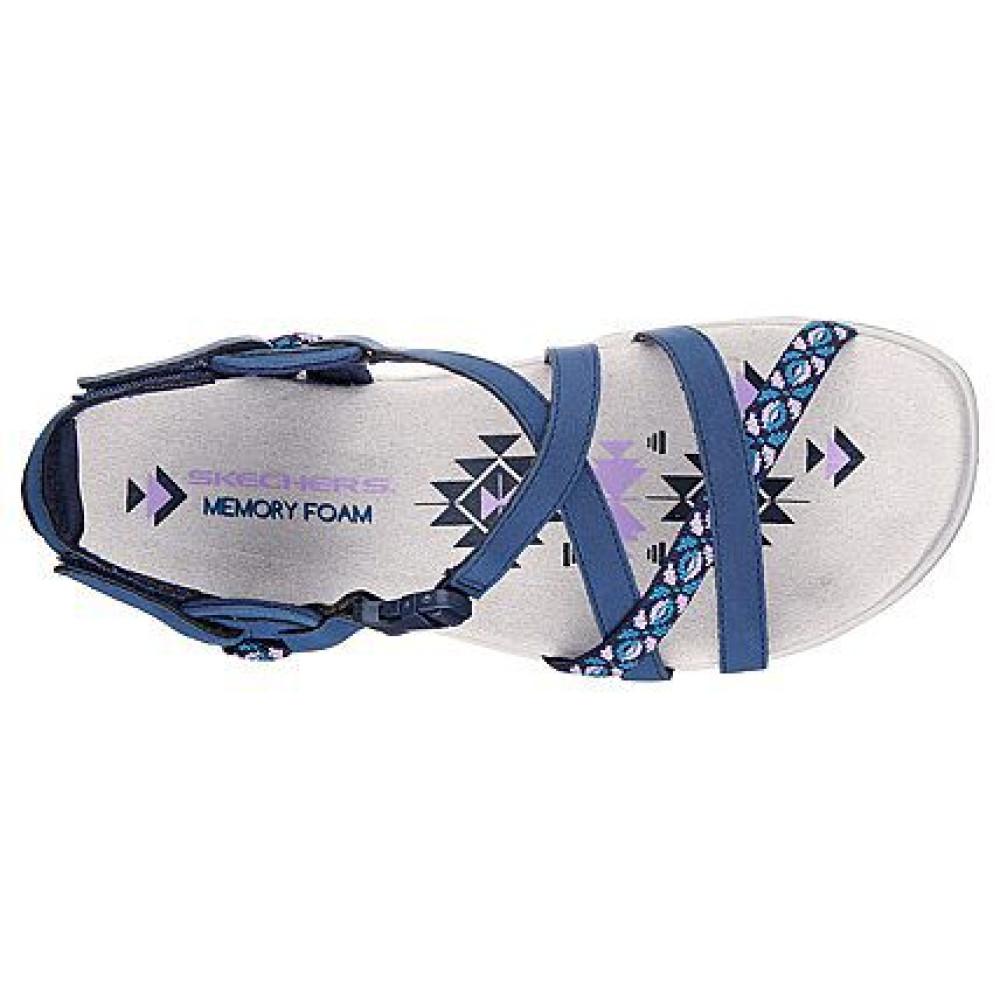 Sandale dama Skechers 40955 Albastru