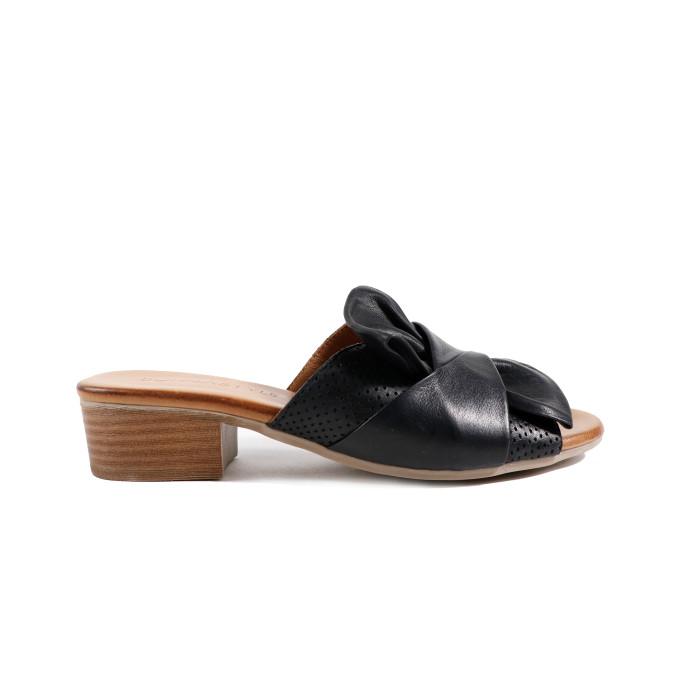 Papuci dama DONNA STYLE 0500B Negru