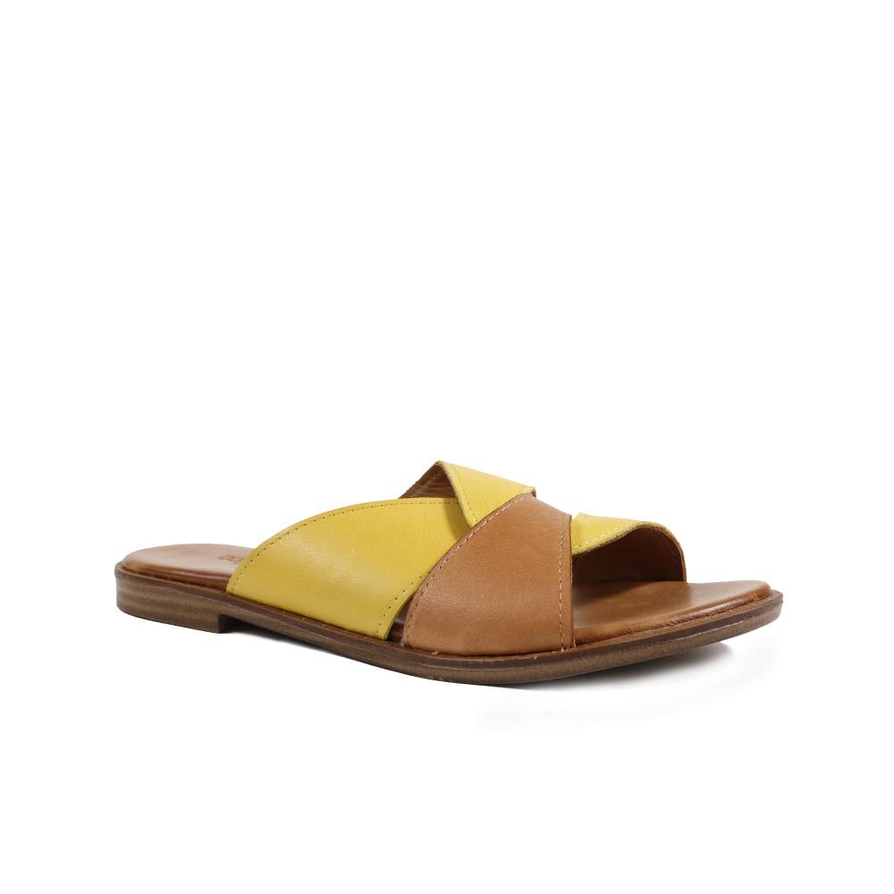 Papuci dama DONNA STYLE 0580T Galben