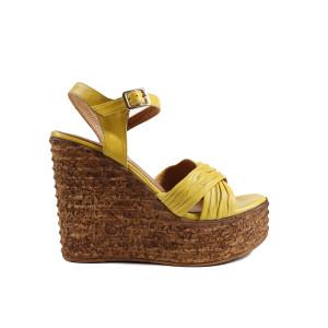 Sandale dama DONNA STYLE 0728T Galben