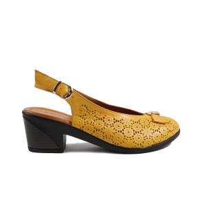 Sandale dama DONNA STYLE 410R19 Galben