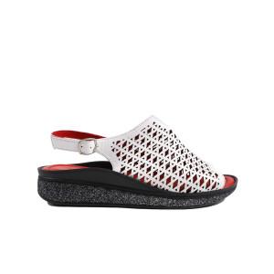 Sandale dama DONNA STYLE 5702R565 Alb