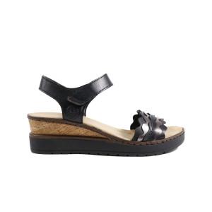 Sandale dama RIEKER V38F3-00 Negru
