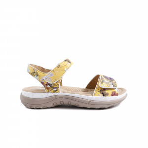 Sandale dama RIEKER V8850-90 Galben
