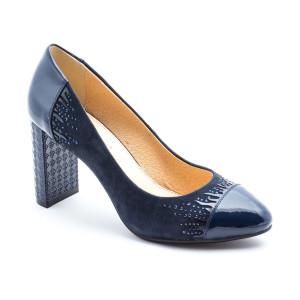 Pantofi dama Deska Navy Bleumarine