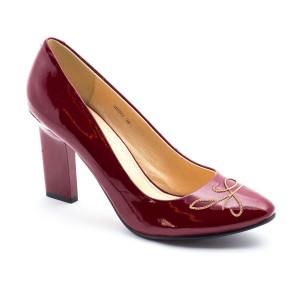 Pantofi dama Deska Bordeaux