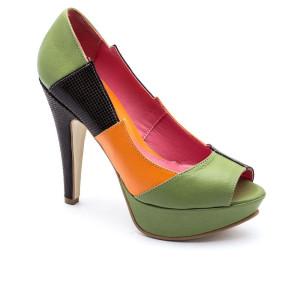 Pantofi dama Corvaris Multicolor