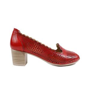 Pantofi dama DERIZEN 1071R Rosu