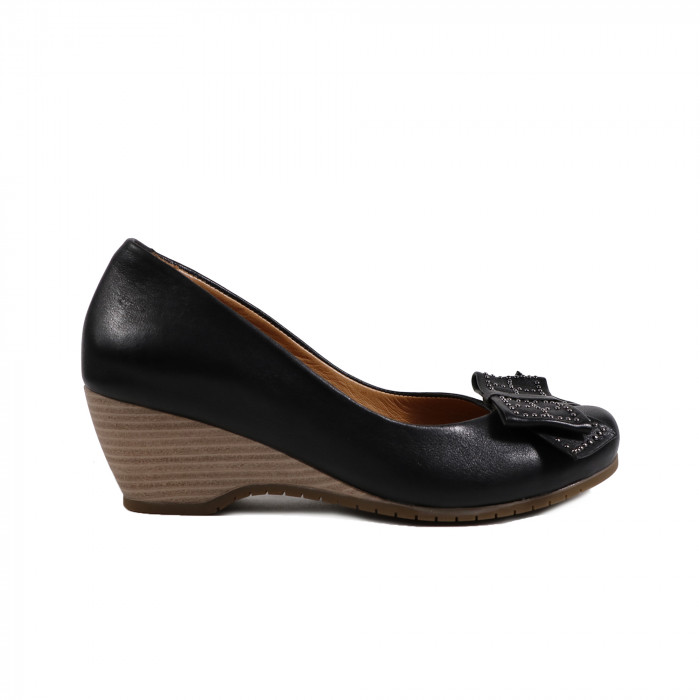 Pantofi dama LA PINTA 0095-834 Negru