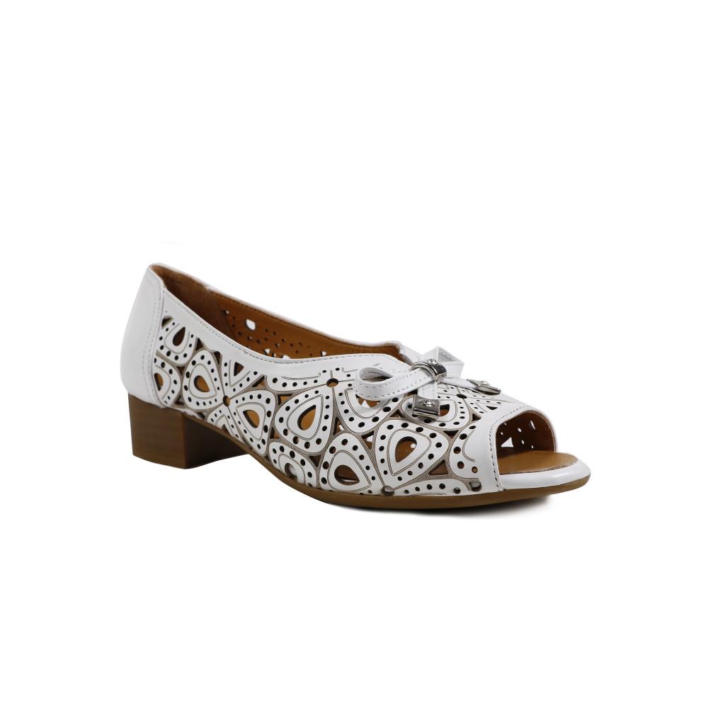 Sandale dama LA PINTA 7209-617A Alb