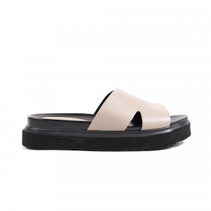 Papuci dama ALPETTO 14526-721 Taupe