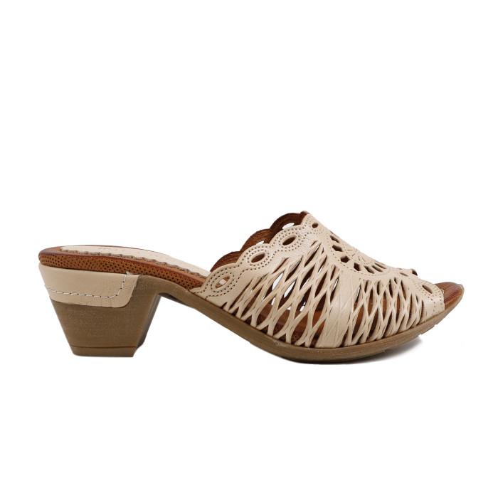 Papuci dama LA PINTA 0618-5204B Bej