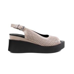 Sandale dama LA PINTA 0001-1432 Bej