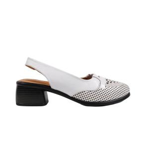 Sandale dama LA PINTA 0697-013 Alb