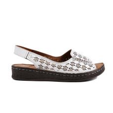 Sandale dama LA PINTA 0748-7306-1 Alb