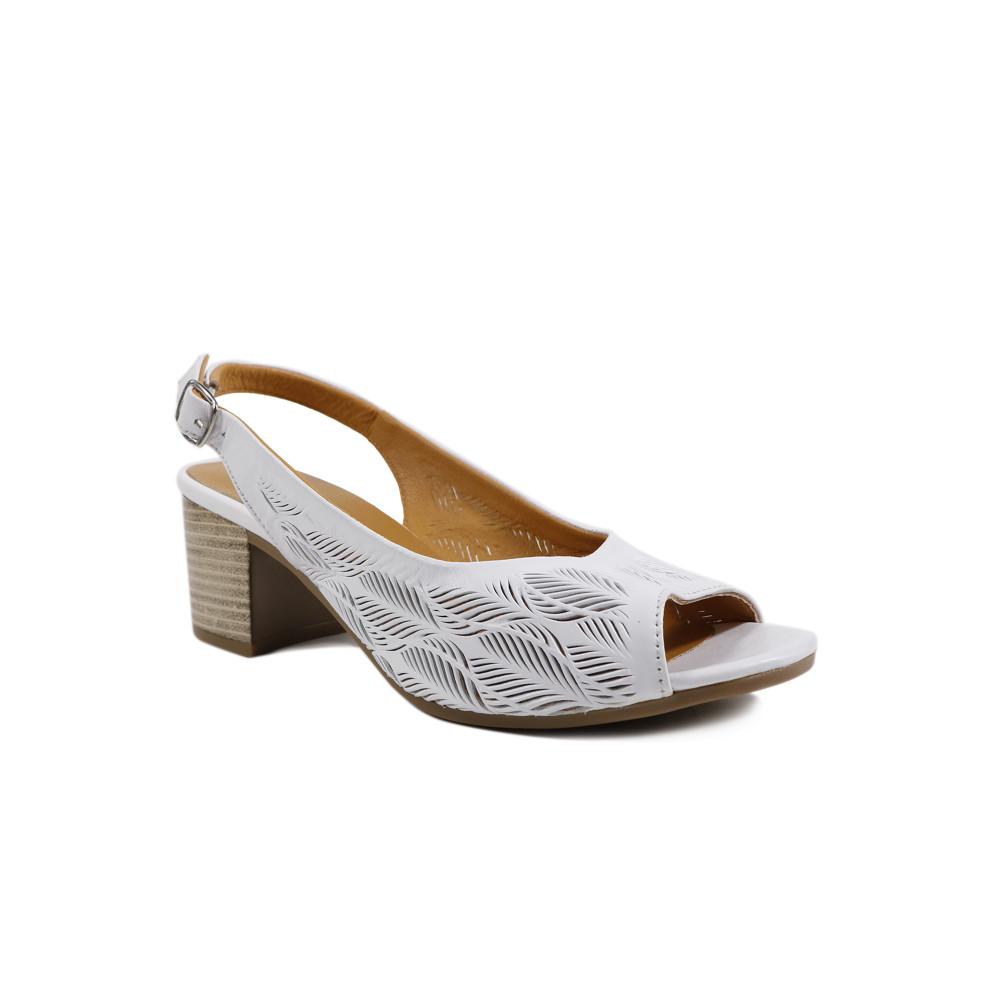 Sandale dama LA PINTA 7603-12118A Alb