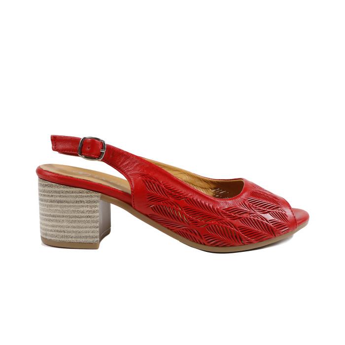 Sandale dama LA PINTA 7603-12118R Rosu
