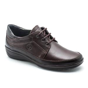 Pantofi dama Gitanos Maro cu siret