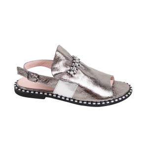 Sandale dama MYM 191634 Argintiu
