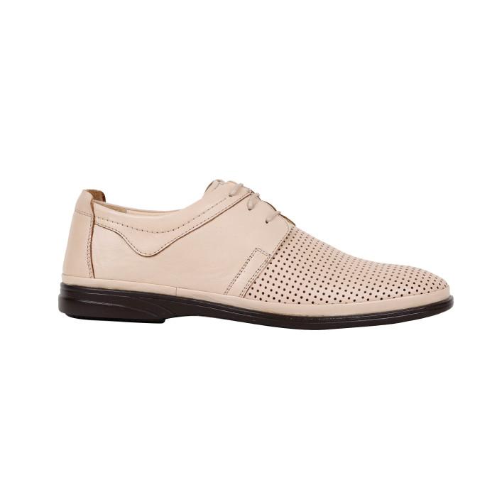 Pantofi barbati Brave 1101 Crem