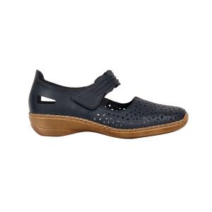 Pantofi dama Rieker 41399-14 Albastru