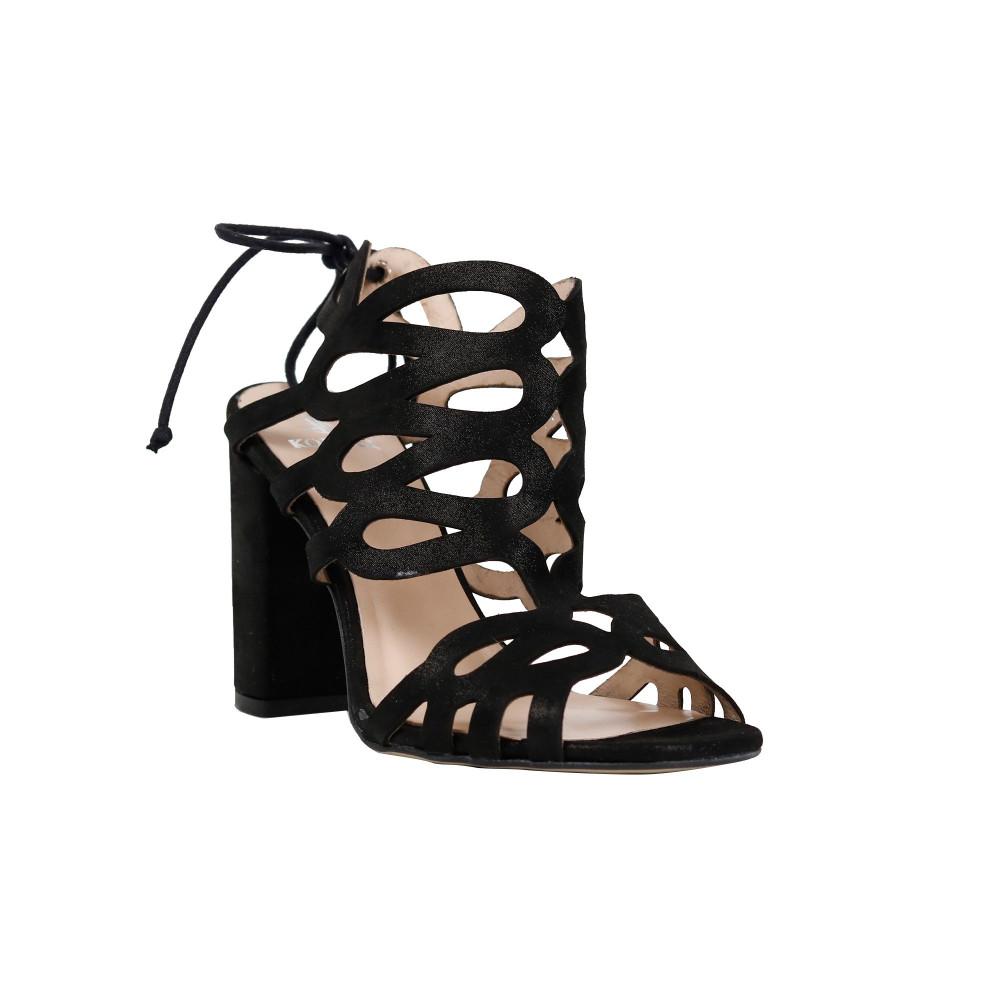 Sandale dama Kordel 1486 Negru Sidef
