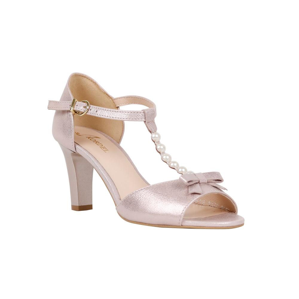 Sandale dama Kordel 1729 Bej Sidef