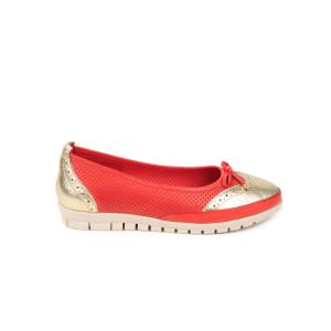 Pantofi dama CASPIAN Corai cu Auriu